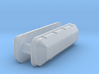 1/43 BBC Low Profile Valve Covers 3d printed