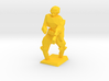 Yellow 3d printed