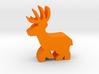 Game Piece, Deer Buck, running 3d printed