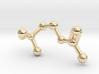 Acetylcholine Molecule 3d printed