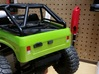 Axial SCX10 1/10 Scale License Bracket 3d printed Painted Flat Black - Tail Gate Latch Sold Separately
