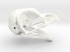 Great Horned Owl Skull - Life sized 3d printed