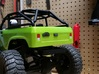 Axial SCX10 1/10 Scale Tailgate Latch 3d printed Painted Flat Black - License Bracket sold separately
