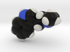 DMT molecule model, Spacefill style 3d printed