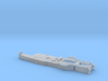 HMAS Vampire 1/350 Aft Superstructure 3d printed