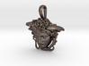 Steel Medusa Rondanini pendant 3d printed