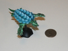 Regitorax - Fleetscale Turtle Kaiju 3d printed Printed and painted in WSF.  This model is hollow to ease cost.
