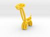 Balloon Girafe Pendant 3d printed