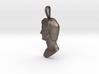Steel Augustus Prima Porta pendant 3d printed