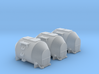 EFKR Dry Bulk Container - TTscale 3d printed