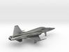 Jet F5 Tiger gold & other precious materials 3d printed