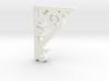 Victorian Corner Bracket - 002 1:12 Scale 3d printed