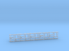5 Late Sherman lamp, horn and tail light guard set 3d printed