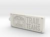 FJ Cruiser Trail Teams Keychain 3d printed