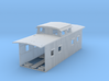 1:87 Clinchfield RR Angled Cupola Wood Caboose 3d printed