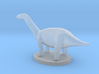 Miniature Apatosaurus Dark Green Full Color 3d printed