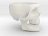 Skull Ashtray 3d printed