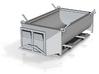 HO 1:87 Asphaltmulde Asphalt dump for 7.5t trucks  3d printed