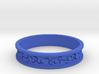 Curls Ring 3d printed