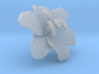 Lily Flower 1 Block - XS 3d printed