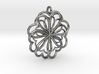 Hearts Flower 3d printed