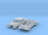 Mercedes-Benz 220S (N 1:160) 3d printed