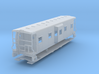 Sou Ry. bay window caboose - Round roof - N scale 3d printed