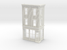 Philadelphia Corner Store Front O scale  3 stories 3d printed