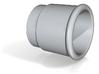 Vacuum Cleaner Female Hose Taper - 3/4 BSPP 3d printed