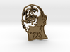 Zombie #1 (unfilled) Pendant 3d printed