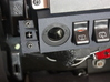 97-01 Jeep Cherokee XJ 6 switch bezel Driver Power 3d printed