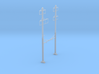 CATENARY PRR 2 TRACK 2-2 PHASE 3 PECO N SCALE  3d printed