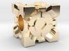 Companion Cube Bead 3d printed