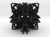 Cathedralis Cubicae Atomicus Fractalis Gothicus S 3d printed