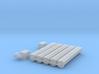 "'HO Scale' - 12"" Round Bottom Conveyor 3d printed"
