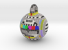 Philips PM5544 television pattern hollow ball 50mm 3d printed