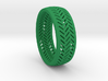 Herringbone Ring Size 12 3d printed