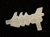 Transformers Twinstrike's 3mm Blaster 3d printed Frosted detail print