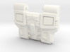Reckless Driver's IDW Chest Plate 3d printed