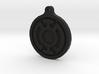 Blue Lantern Key Chain 3d printed