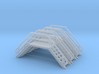 N Scale 3x Crossover Stairs #3 3d printed