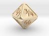 'Simple' D8 Tarmogoyf P/T balanced die 3d printed