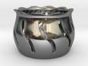 Tea Light Holder Wave 3d printed