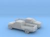 1/160 2X 1994-01 Dodge Ram Extendet Cab Dually 3d printed
