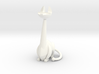 Long-neck Cat 3d printed