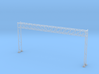 HO Scale Sign Gantry 171mm 3d printed