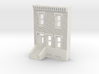 N SCALE ROW HOME FRONT 2S 3d printed