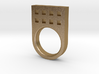 Small Tower Ring 3d printed