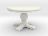 1:48 Round Trestle Table 3d printed
