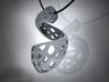 The Twisted Pendant 3d printed Reverse Side of Geometry